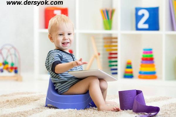 çocuklara tuvalet eğitimi verme, tuvalet eğitimi ve çocuklar, çocukların tuvalet eğitimine tepkisi